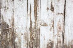 White paint mottled wooden doors Stock Images