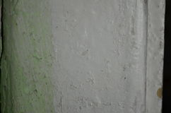 White paint old. Great for textures where you can write and 3D objects Stock Photos