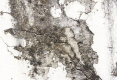White paint peeling off on wall background Royalty Free Stock Image