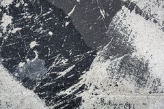 White paint on roofing material Royalty Free Stock Images