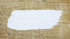 White paint space on wood Stock Photos