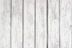 The white paint wood texture with natural patterns Stock Photography