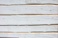 White painted boards Stock Photo