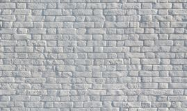 White painted brick wall seamless texture stock photography