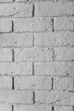 White painted brick wall texture background royalty free stock images