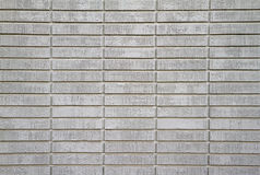 White painted bricks close Royalty Free Stock Photography