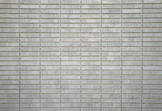 White painted bricks far Stock Photos