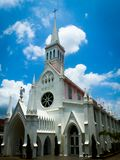 Christian Church Building in Singapore, Asia royalty free stock photos