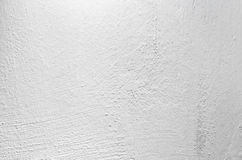 White painted concrete wall, closeup background texture Royalty Free Stock Photography