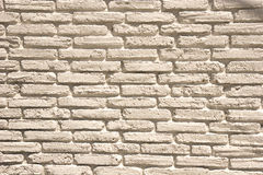 White Painted Old Brick stock photos