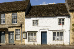 White painted stone cottage, Lacock Stock Photography
