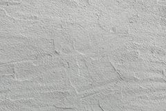 White painted stucco wall. Background texture Royalty Free Stock Image