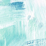 White painted textured background with brush strokes. White painted textured abstract background with brush strokes in blue shadows. Fragment of acrylic painting Stock Image