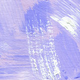 White painted textured background with brush strokes. White painted textured abstract background with brush strokes in blue shadows. Fragment of acrylic painting Royalty Free Stock Images