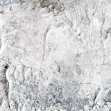 White painted textured background with brush strokes. White painted textured abstract background with brush strokes in gray and black shades. Fragment of acrylic Royalty Free Stock Photo