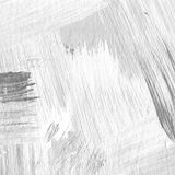 White painted textured background with brush strokes. White painted textured abstract background with brush strokes in gray and black shades. Fragment of acrylic Stock Photos