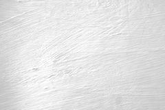 White painted wall with brush marks Royalty Free Stock Photos