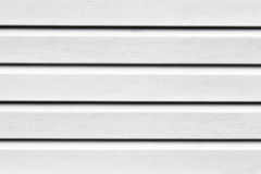 White Painted Wood Planks Royalty Free Stock Photography