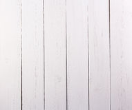 White painted wood texture as background. Stock Image