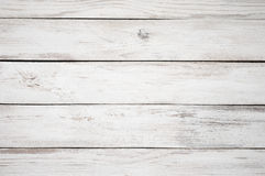 White painted wood texture Royalty Free Stock Photos