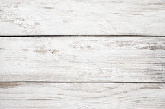 White painted wood texture. Vintage weathered shabby white painted wood texture as background Royalty Free Stock Photography