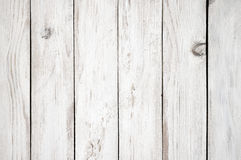 White painted wood texture Stock Images