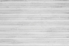 White painted wood vintage structure background. Old wood planks pained in white color Royalty Free Stock Photos
