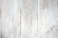 White painted wooden boards in a row stock image