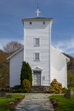 White painted wooden church in Hjelmeland, Norway Royalty Free Stock Photos