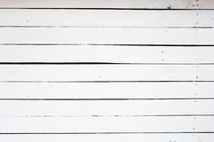 White painted wooden plank background Royalty Free Stock Photos