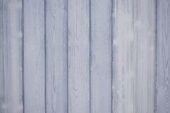 White painted wooden wall. White and grey wood stock image