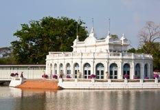 White Palace. Location; Ayutthaya, Thailand Stock Photography