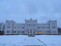 White palace, Lithuania Royalty Free Stock Photography