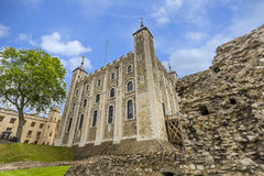 The White Palace at the Tower of London Royalty Free Stock Photo