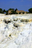 White Pamukkale Royalty Free Stock Image