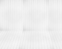 White panel wall background. White panel wall and floor background Stock Images