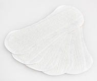 White panty liners Royalty Free Stock Images