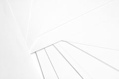 White paper. Close up of the white papers for the background Royalty Free Stock Image