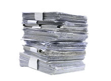 White paper Royalty Free Stock Image
