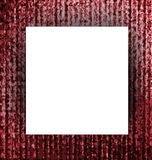 White paper with Abstract red grunge background. Royalty Free Stock Image