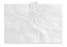 White paper background royalty free stock photos