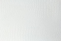 White paper background with leather pattern Stock Photo