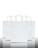 White paper bag Stock Photography