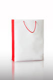 White paper bag Stock Images