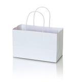 White paper bag Royalty Free Stock Photo