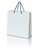 White paper bag Royalty Free Stock Image