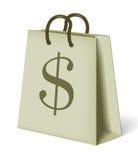 White paper bag Stock Photos