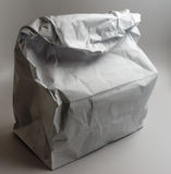 White Paper Bag Stock Photos