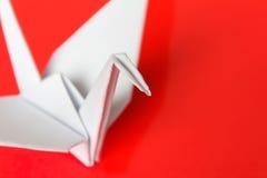 White paper bird Royalty Free Stock Photo