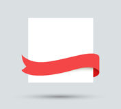 White paper blank Stock Photography